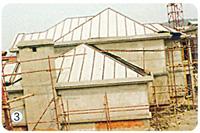 斜屋面施工法3